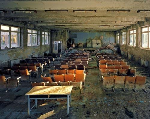 Pripyat, la ciudad envenenada
