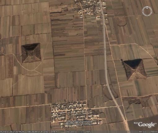 piramides chinas
