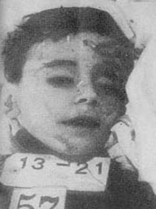 Enriqueta Martí, la vampira del carrer ponent Enriquetamartivictima