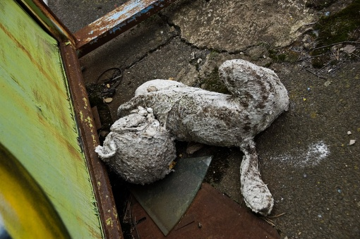 juguetes abandonados en pripyat