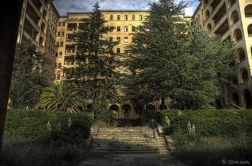 Un lugar que da miedito: El Hospital del Torax de Terrassa