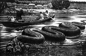 serpientes gigantes