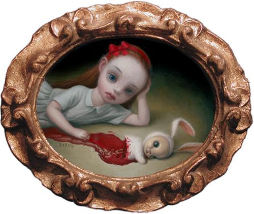 El arte Dark. Cloven_bunny