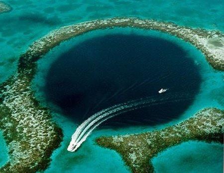 álbum de los agujeros mas grandes y profundos del planeta!