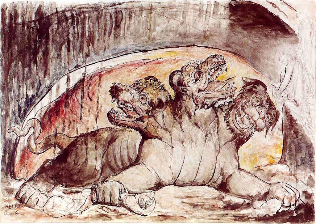 Acuarela de William Blake