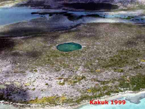 El Middle Bight, en la isla de Andros. Bahamas