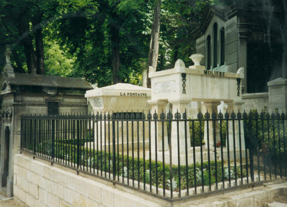 FWW-Pere-Lachaise-Moliere-and-La-Fontaine