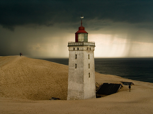 lighthouse-rubjerg