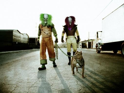 Payasos Diabolicos Payasos-asesinos