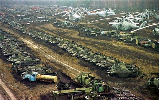 cementerio chernobyl