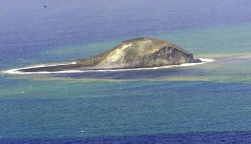 nacimiento de una isla
