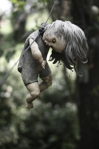 Me das miedo, muñeca.