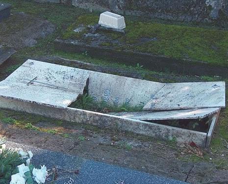 Un profanador de tumbas