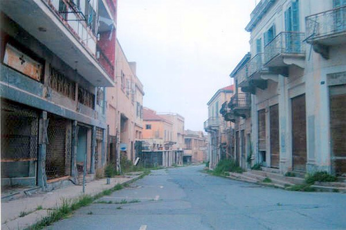 pueblo fantasma en chipre