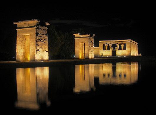 El templo de Debod. La magia de Egipto en el centro de Madrid.