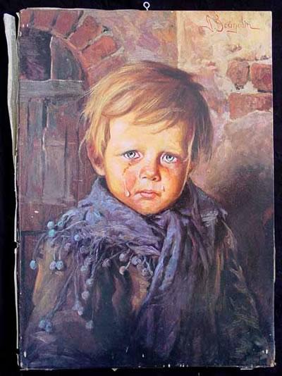 La maldicion de los niños llorones