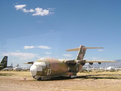 aviones abandonados