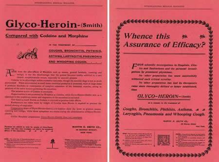Unos sorprendentes medicamentos... Estos bisabuelos nuestros... ay, ay, ay... Glyco_heroin