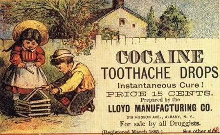 Unos sorprendentes medicamentos... Estos bisabuelos nuestros... ay, ay, ay... Medicamentos_cocaina