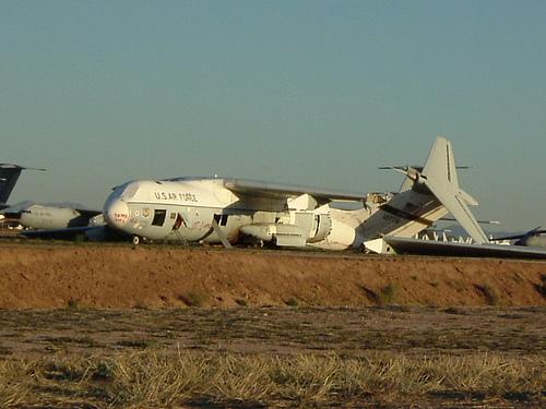 cementerios de aviones