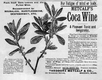 Unos sorprendentes medicamentos... Estos bisabuelos nuestros... ay, ay, ay... Vino-de-coca