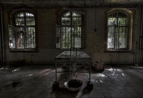 Lugares abandonados.Algunas fotos.