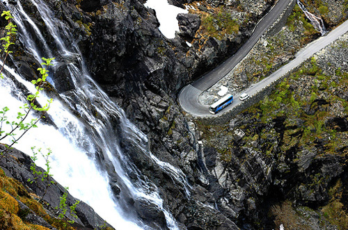 caminos peligrosos