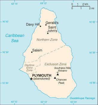 LUGARES ABANDONADOS-LUGARES OLVIDADOS (sitios fantasma en el mundo) Montserrat-cia_wfb_map