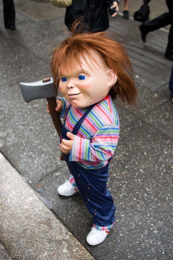 Chucky se pasea por Nueva York
