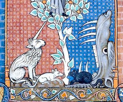 Los Unicornios. Mythical_creatures