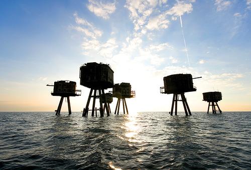 Las Fortalezas marinas Maunsell