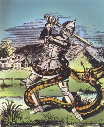 La maldición de la serpiente de Lambton