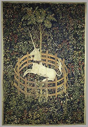 Los Unicornios. Unicorn_in_captivity