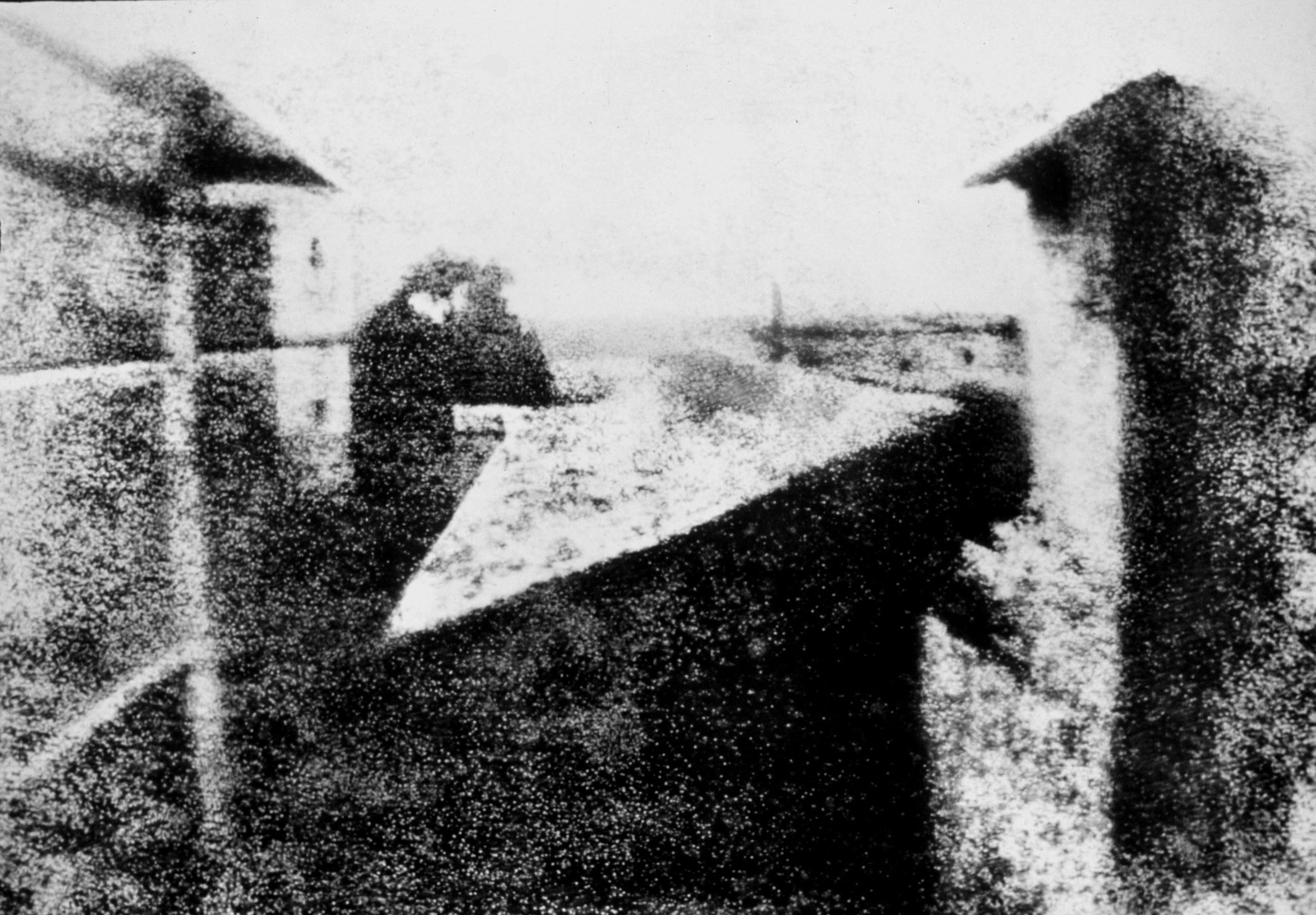 La fotografía más antigua conservada y otros records fotográficos.