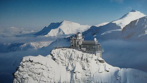 Jungfraujoch, el tren a más altura de Europa