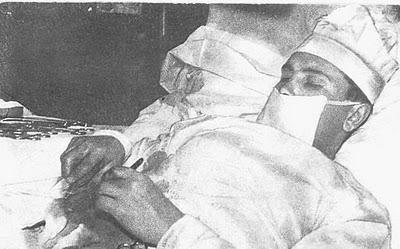 Leoniv Rogozov, el medico que se operó a sí mismo.