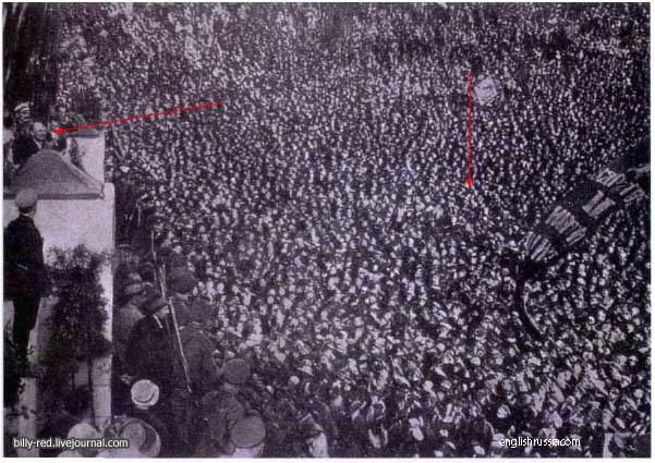 Premières falsification de photos en URSS ? Fotomontajes_comunismo
