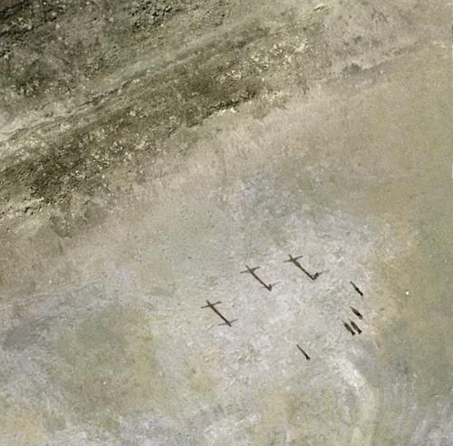 Escenas bíblicas a vista de pájaro