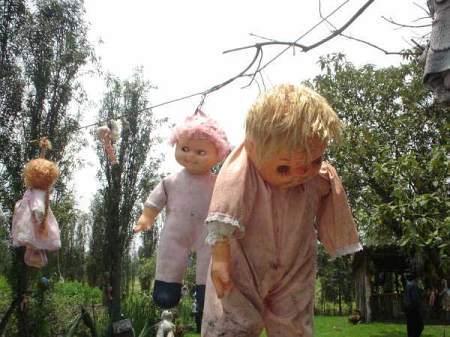 Lugares macabros. La isla de las muñecas de Xochimilco