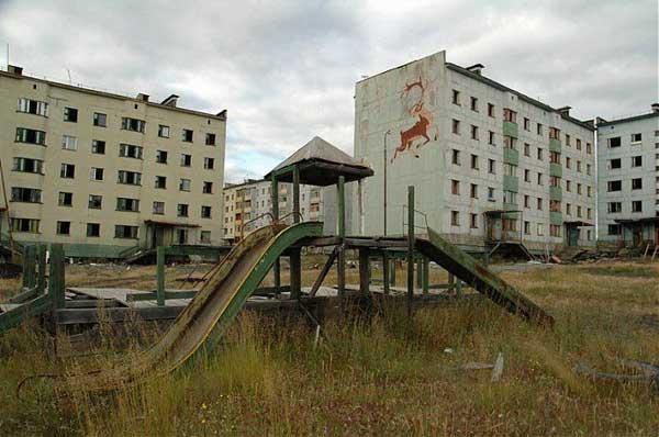 Pueblos fantasma. Kadyckchan, espejo del declive de la antigua Unión Soviética
