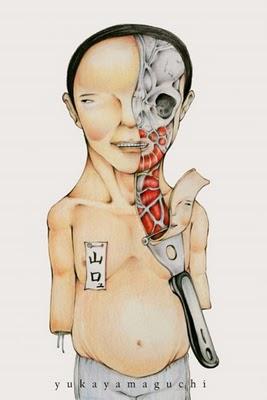 Arte macabro. Los dibujos de Yuka Yamaguchi