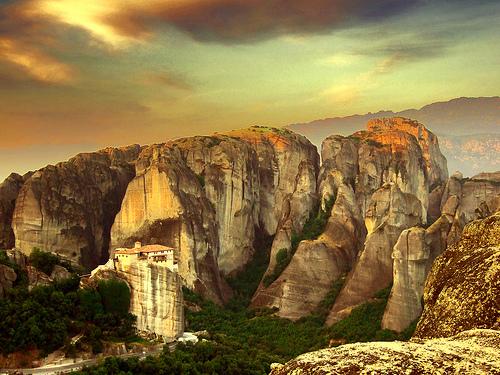 Lugares increíbles. Los monasterios de Meteora