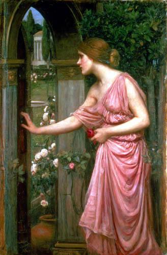 Psique, la mujer más bella de la mitología.