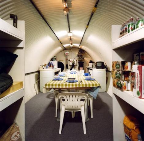 Bunkers para una guerra nuclear