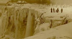 Los años en que se congelaron las cataratas del Niágara