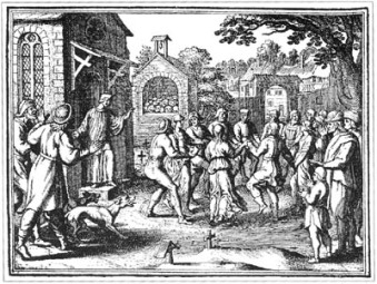 Coreomanía, las danzas epidémicas de los malditos.