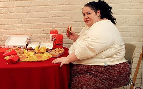 Donna Simpson, objetivo: ser la mujer más obesa del mundo.