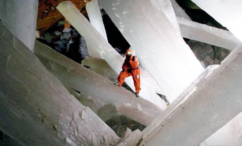 Planeta mágico. Naica, la cueva de los cristales gigantes.