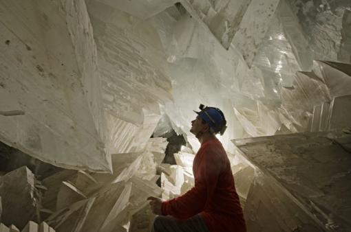Cuevas de NAICA Cuevas de Cristales bajo la tierra