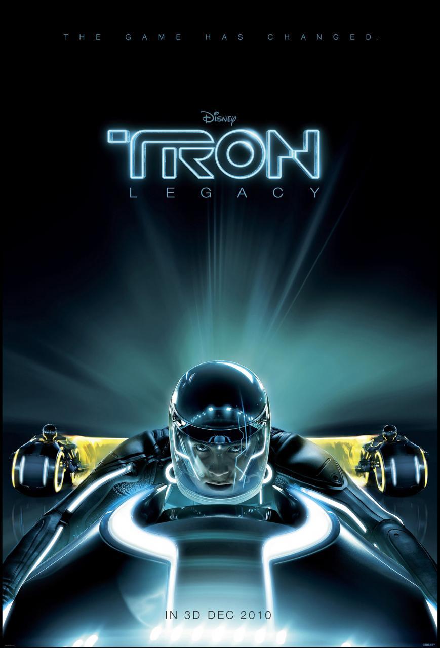 La butaca oscura. Tron Legacy, el juego ha cambiado.